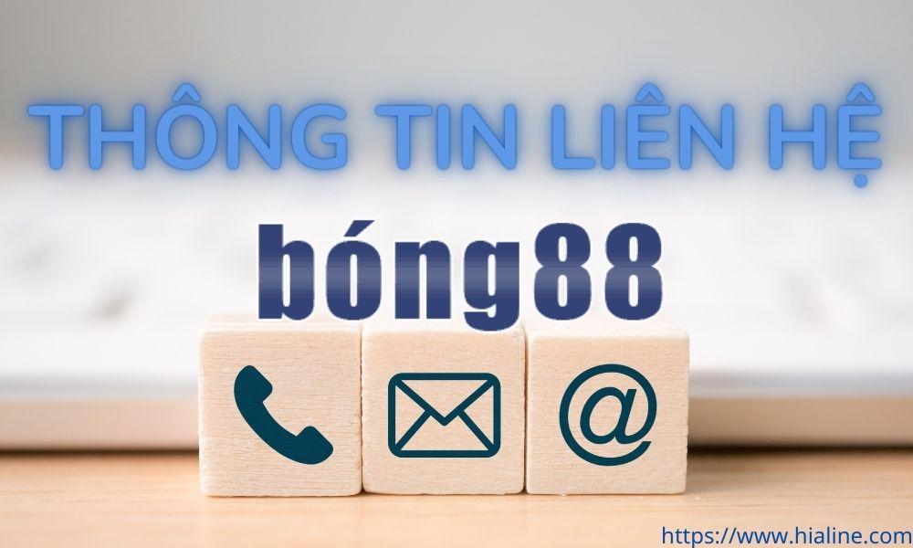 Thông tin liên hệ Bong88