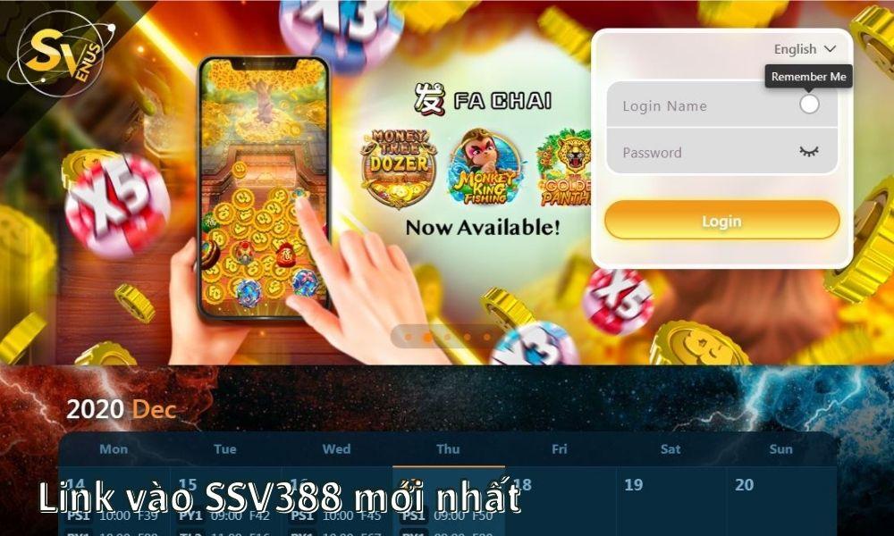 Link vào SSV388 mới nhất